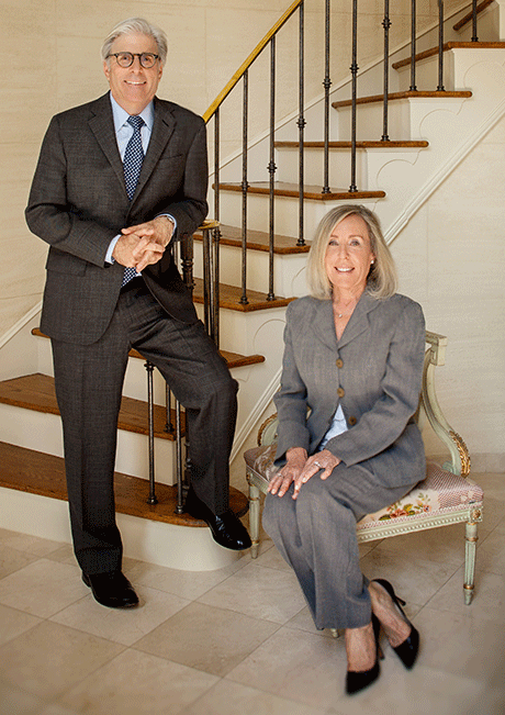 Mike and Cynthia Silver, two of the top legal professionals in Philadelphia, available to give legal help when needed